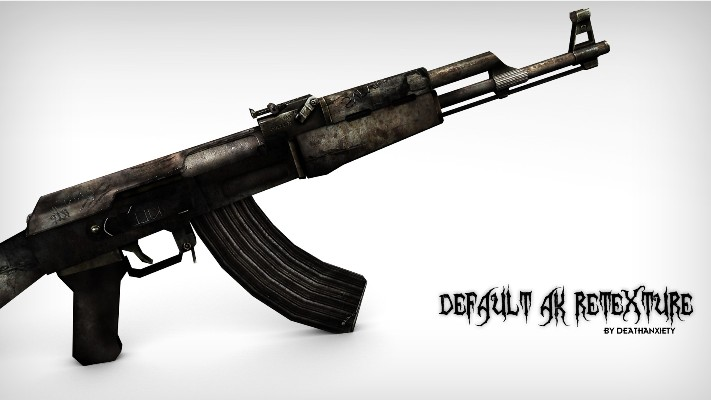 Default AK47 HD Damage Retexture