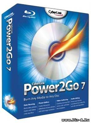 CyberLink Power2Go Deluxe 7.0.0.1827 + DVD Menu Template Pack (2011)